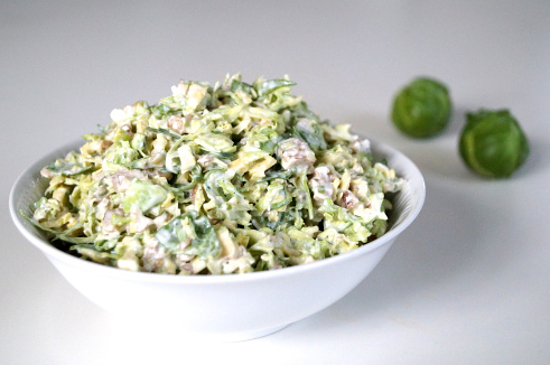 Салат з брюсельської капусти