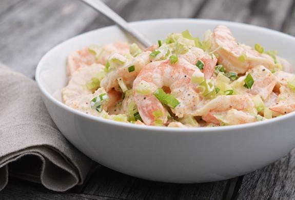 салат з креветками рецепт найсмачніший