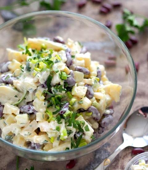 Салаты с консервированными ананасами рецепт с